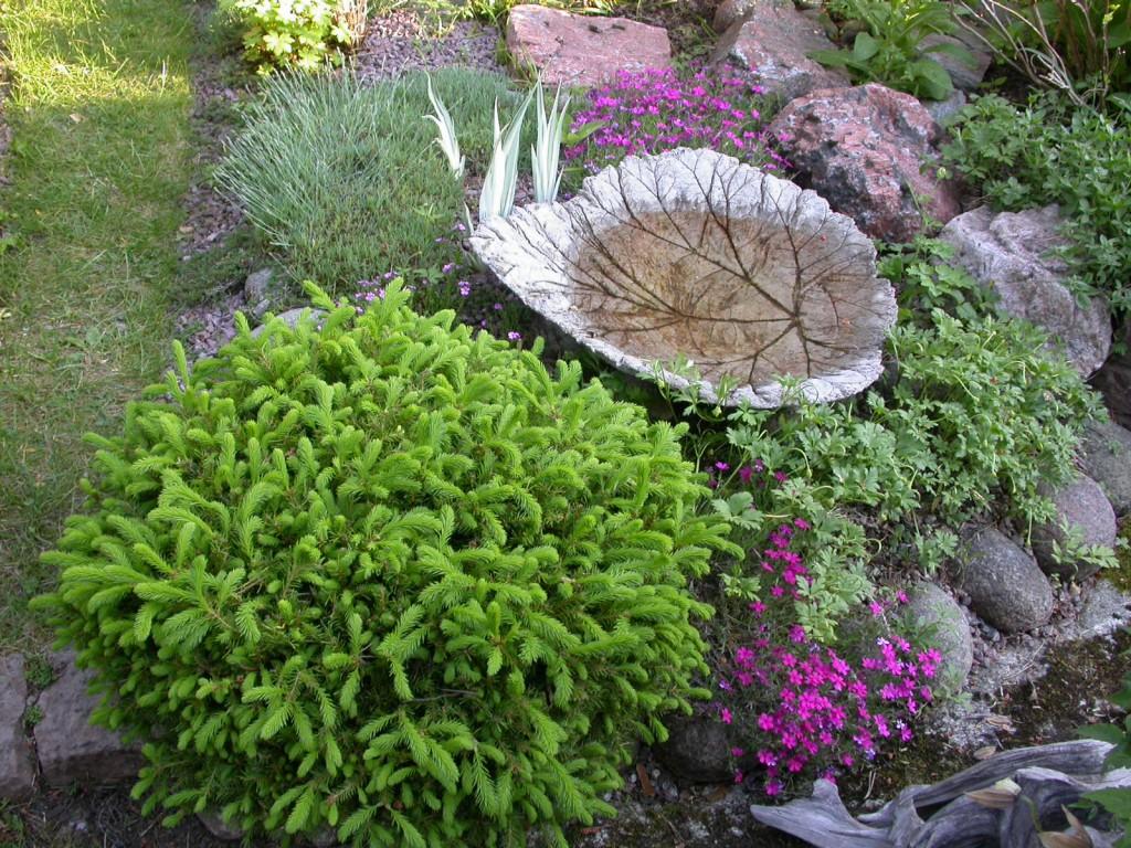 Trädgårdsbesök hos Kristina och Hasse