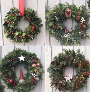 Bilder av olika julkransar