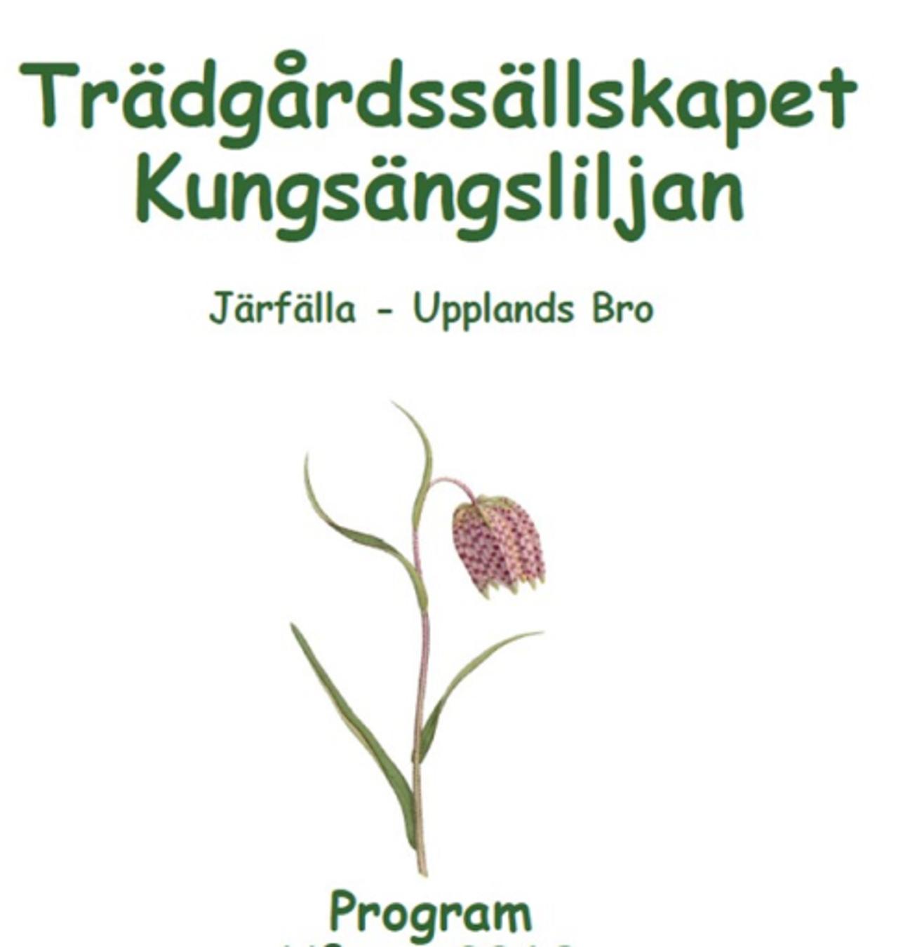 Program hösten 2019